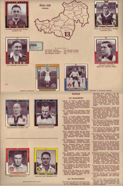 Zigaretten Sammelbild Gauliga 1938/39